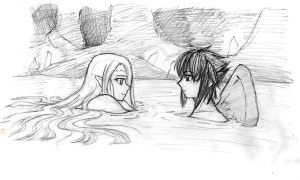Swimming_in_the_lake by Kyomi89