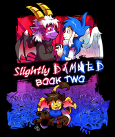 Slightly Damned Book Two cover by raizy