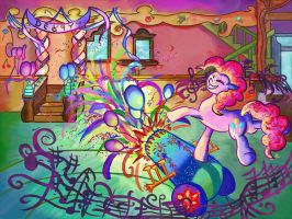 Pinkie's Party Cannon by Rosemary-Thyme
