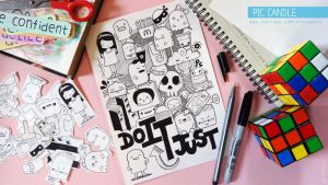 Doodle - Just Do It + Tutorial on YouTube by PicCandle