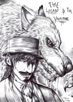 the Lycan and the Vampire by FuriarossaAndMimma