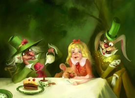 A Mad Tea-Party by Zzanthia