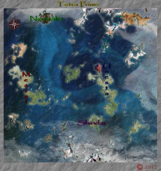 Seals of Creation Bk 1 Awakening (nautical map) by WickedHorizon