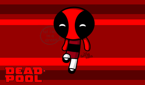 Deadpool Goes Powerpuff by SuperMaster10