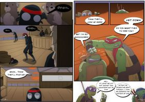TMNT DR: Pages 37-38 by Samantai