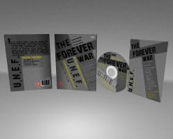 The Forever War Concept DvD case... by dtrford