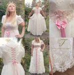 Fairy tale wedding dress commission by Jolien-Rosanne