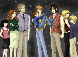 The Cullens Family by tronnie