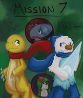 PMD-E: Mission 7 Title Page by Tokiball12345