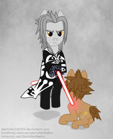 Anger and hate are more supreme than friendship by Starkiller160793