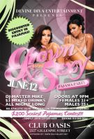 Grown and Sexy Flyer by thatladyj