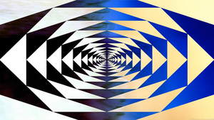 Geometric Abstract Wallpaper by JanetAteHer