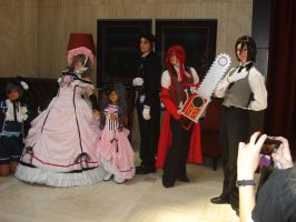 AWA 2010: Black Butler by Gemkio
