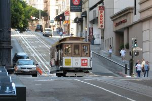 San Francisco Cable Car by ZCochrane