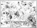 15 Grunge Brushes for CS2 by wickedjess