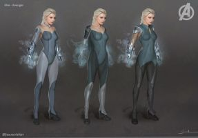 Elsa Avenger by JesusAConde