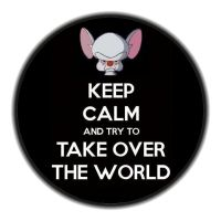 Keep calm take over world by Babs9