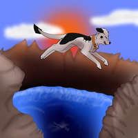 :.leap of faith.: by Rubylockheartwolf