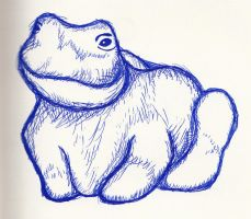 Frog Sketch by a4572