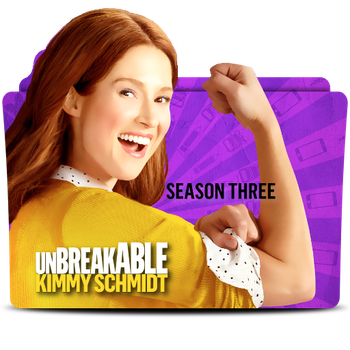 Unbreakable Kimmy Schmidt Season 3 Folder Icon by MaxineChernikoff