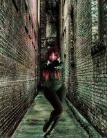 Back Alley Showdown by VisualPoetress