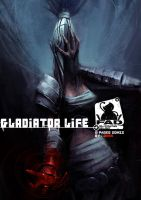 Gladiator life_Comic Cover by ZeenChin