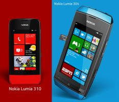 Nokia Feature Smartphones by MetroUI