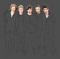 One Direction (process) by Amnesia5sos