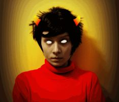 Homestuck Cosplay: Kankri/Sufferer - privilege by Invader-Jay
