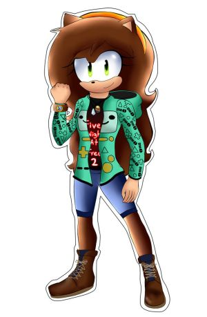 Andrea The hedgehog New Redesing by andreaplayed12