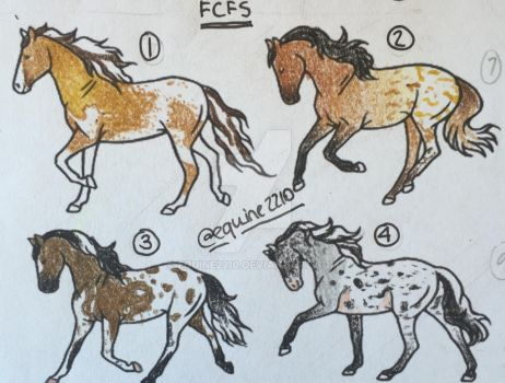 60 watcher Free adopts celebration !  by equine2210