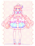 Cotton Rose Adoptable [AUCTION] [CLOSED] by Yamio