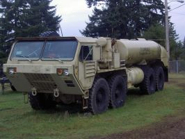 Tanker Truck by TomRedlion