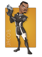 Jacob - Mission Ready with Karpov Pistol by jtrazbo