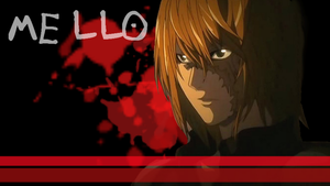 Mello From Death Note Wall. by esiri76