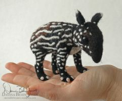 Tapir Baby by FamiliarOddlings