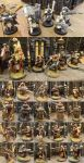 Skitarii Command Squad, Before and After Paints by Talancir