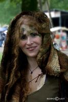 CastleFest 'the greenwoman' by ropo-art