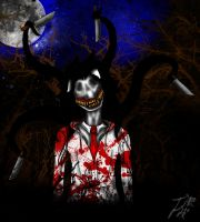 Slender.dog the Killer by TsamiTsunami