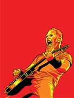 James Hetfield of Metallica by under18carbon
