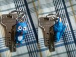Handmade keychain Happy Fairy Tail V2 by JPYOYO