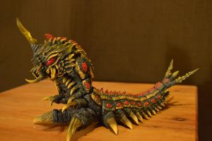 S.H Monsterarts Battra Larva (8/?) by GIGAN05