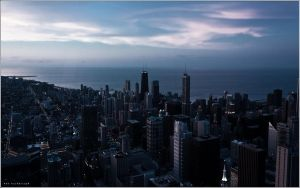 A Calm Chicagoscape by makks87