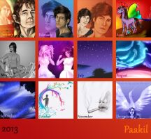 Year Review 2013 by Paakil