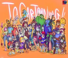 Tribute to The DA Toons Jowy Remembers by Jowybean