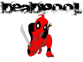 Little Deadpool by BlindAcolyte