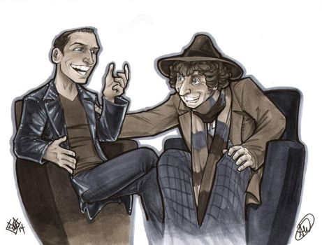 Doctors Four and Nine by AdamWithers