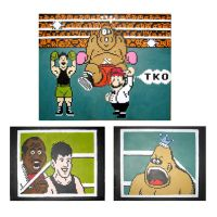 Little Mac and King Hippo Set by Squarepainter