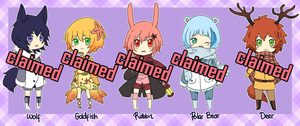 Shota Adoptables - batch 2 CLOSED by Sellleh