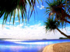 Beautiful Beach No.4 by D3L1GHT